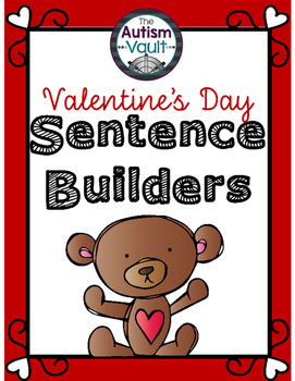 Valentine's Day Sentence Builders Freebie