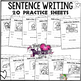 Valentine's Day Activities Sentence Building Naming and Telling Parts