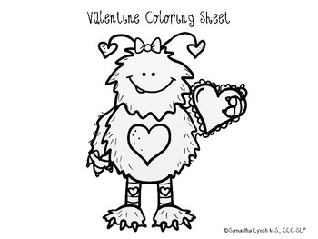 """Valentine's Day Sentence Comprehension & """"WH"""" Questions"""