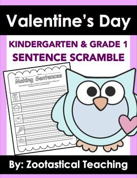 Valentine's Day: Sentence Scramble