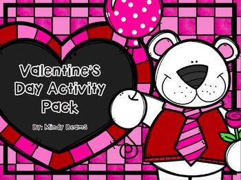 Valentine's Day Short Vowel Activity Pack