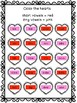 Valentine's Day - Short and Long Vowels Worksheet