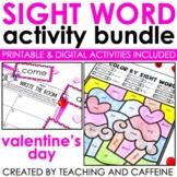 Valentine's Day Sight Word Activities Bundle