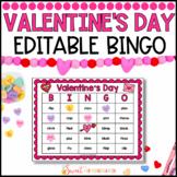 Editable Valentine's Day Sight Word Bingo