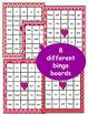 Valentine's Day: Sight Word Bingo - Editable