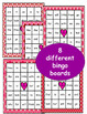 Valentine's Day: Sight Word Bingo - Editable