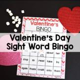 Valentine's Day Sight Word Bingo Game