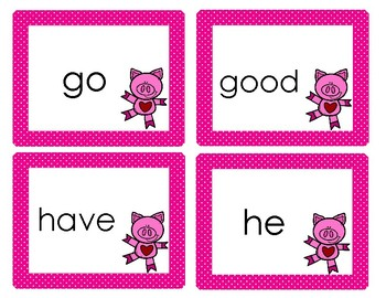 Valentine's Day Sight Words