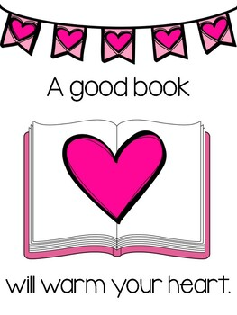 Valentine's Day Signs for Your Library/Media Center