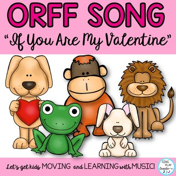 "Valentine's Day ""Silly"" Music Game Song and Lesson so-mi"