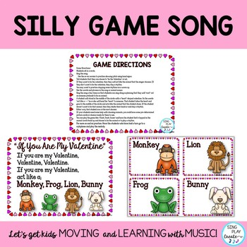"Valentine's Day Orff Game Song , Lesson so-mi ""If You Are My Valentine"""