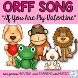 Valentine's Day Silly Game Song for Teaching or Practicing so-mi