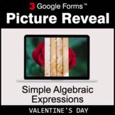 Valentine's Day: Simple Algebraic Expressions - Google For