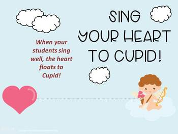 Valentine's Day Singing Cupid and Music Activity, Music and Movement.