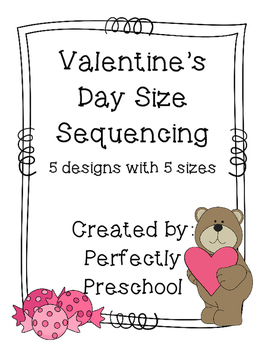 Valentine's Day Size Sequencing {Dollar Deal}