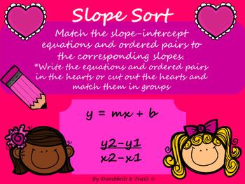 Valentine's Day Slope Sort