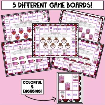 Valentine's Day Sneaky E Board Games