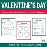Valentine's Day Social Emotional Worksheets