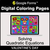Valentine's Day: Solving Quadratic Equations - Digital Col