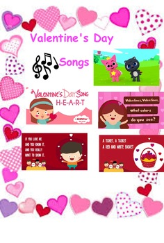 Valentine's Day Songs...Choice Board