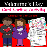 Valentine's Day Activities - Sorting Card Activity - Graph
