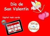 Valentine's Day (Spanish Digital Task Cards/BOOM CARDS) Di