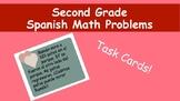 2nd/3rd Heart Spanish Math Problems!