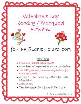 Valentine's Day - Spanish Reading Activities