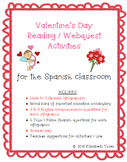 Valentine's Day - Spanish Reading Activities