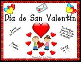 Valentine's Day Spansih Writing Reading Math Bilingual Stars Mrs. Partida