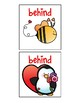 Valentine's Day Spatial Concept Flashcards