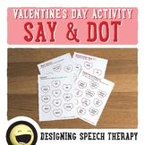 Valentine's Day Speech & Language Activities