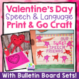 Valentine's Day Speech Therapy Activity