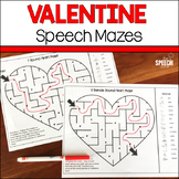 Valentine's Day Speech Mazes