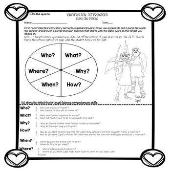 Valentine's Day Speech Therapy | Valentine's Day Speech and Language