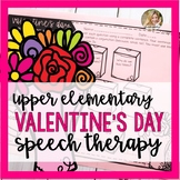 Valentine's Day Speech Therapy Activities | Speech and Language Valentine's Day