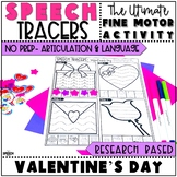 Valentine's Day Speech Therapy Activity: No Prep Language and Articulation