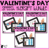 Valentine's Day Speech Therapy Bundle-NO PRINT