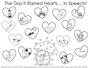 Valentine's Day Speech Therapy FREEBIE!