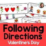 Valentine's Day Speech Therapy   Following Directions   Li