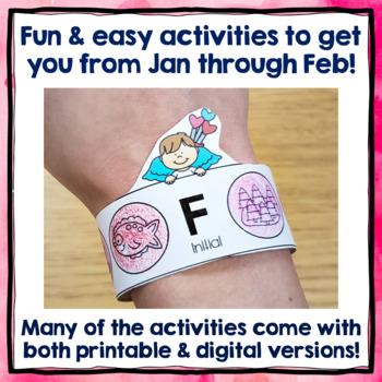 Valentine's Day Speech and Language Activities - BUNDLE