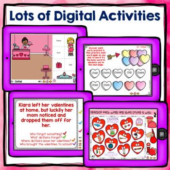 Valentine's Day Speech and Language Activities - Valentine's Day Speech Therapy
