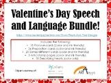 Valentine's Day Speech and Language Bundle!