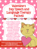 Valentine's Day Speech and Language Packet!