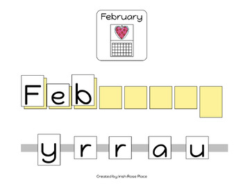 Valentine's Day Spelling Books (Adapted Book)
