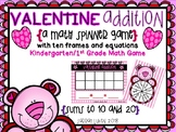 "Valentine's Day ""Spin and Solve"" Addition"