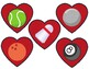 Valentine's Day Sports Hearts Reward (VIPKID)