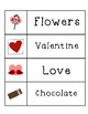 Valentine's Day & St. Patrick's Day Word Cards Set