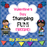Valentine's Day Stamping Fun! FREEBIE!