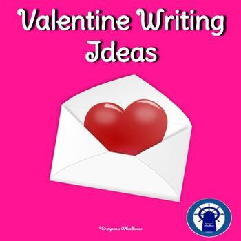 Valentine's Day Stationery/Writing Ideas